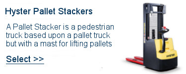 Select Hyster PalletStackers